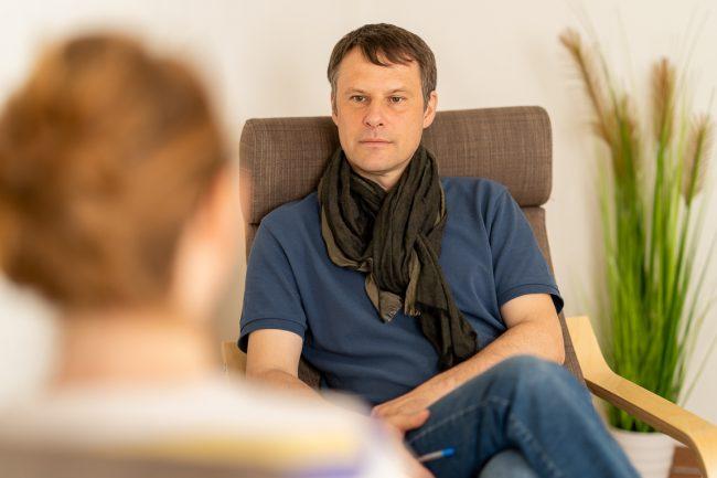 Sprechzimmer Praxis Christoph Krüger